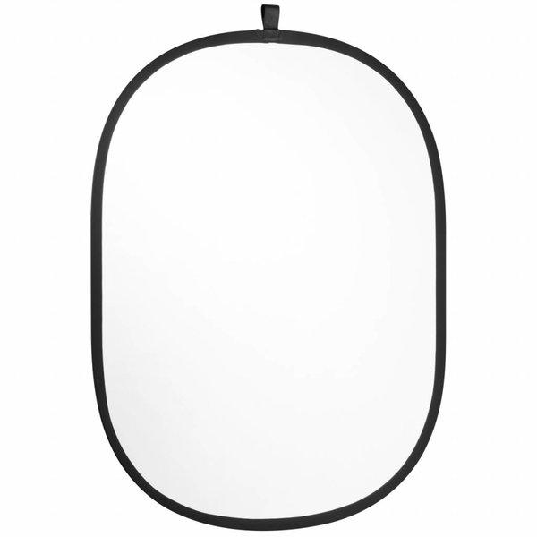 Walimex Opvouwbare Reflectieset  2in1 Zilver/Wit 102x168cm