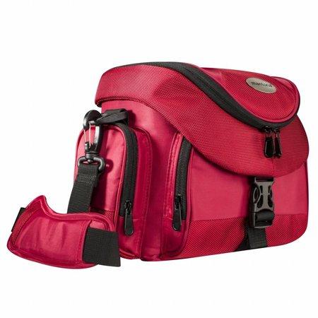 mantona Cameratas Premium rood / Zwart