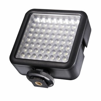 Walimex Pro LED Videoleuchte 64 LED dimmbar