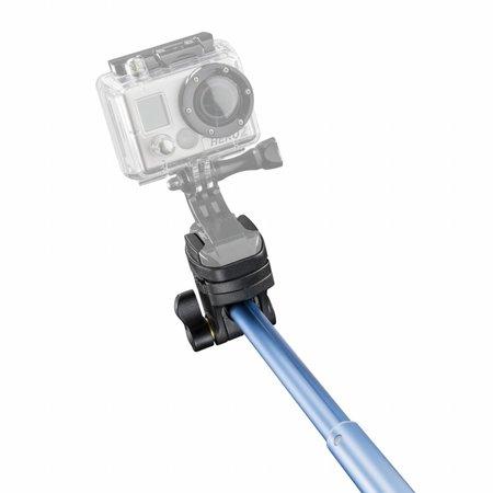 Mantona Monopod Selfie Blauw voor Iphone
