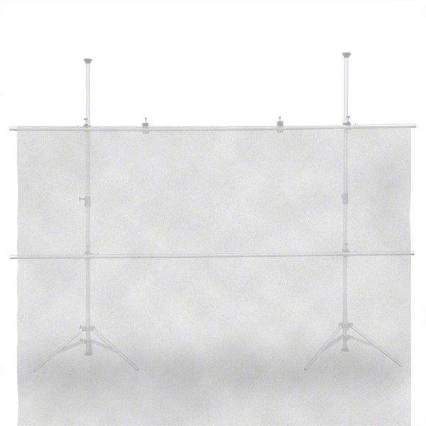 Walimex Diffuser Doek Transparant voor studio fotografie, 300x300cm