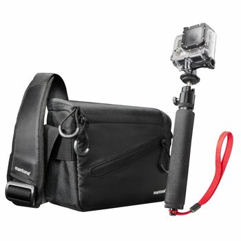 Mantona GoPro Irit Bag and Hand Tripod