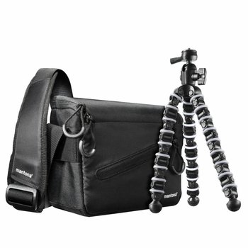 mantona Camera Bag & Flexi Tripod Kit