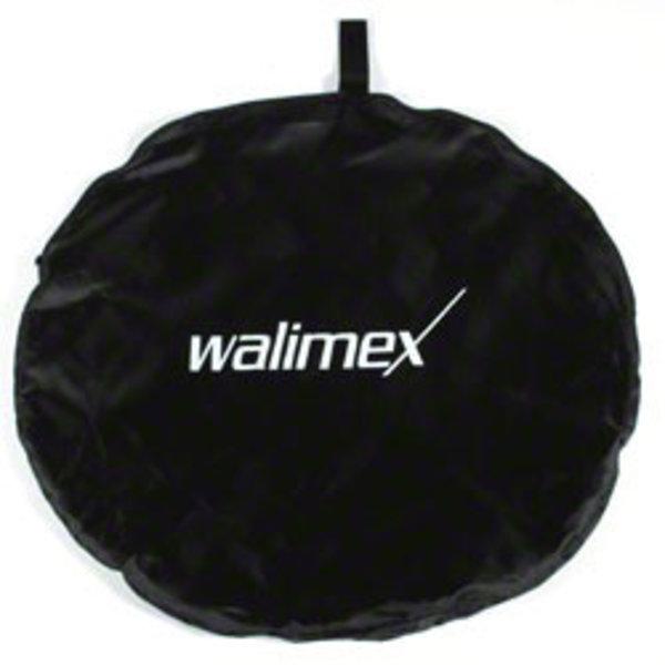 Walimex Opvouwbaar Achtergrond voor studio fotografie 2in1 Zwart/Wit, 145x200