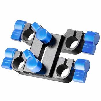 Walimex Pro 15mm Doppel-Klemmblock für Video Rig