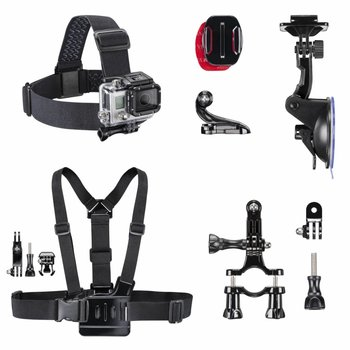 Mantona GoPro Accessories Set Mix I