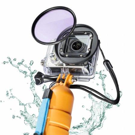 mantona GoPro Unterwasser Filter Set 58mm