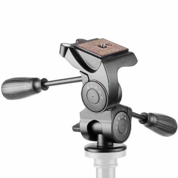 Walimex Pro Balhoofd Aluminum Pro 3D FT-6653H