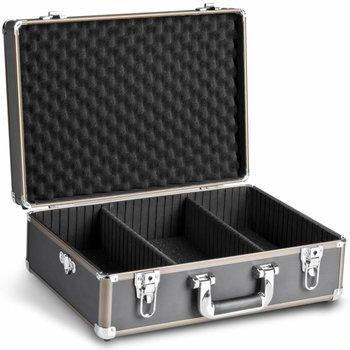 Walimex Foto-Koffer Basic M, schwarz/braun
