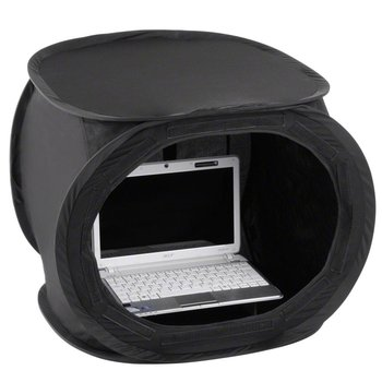 Walimex Pop-Up Laptop Cube 50x50x50cm Super Black