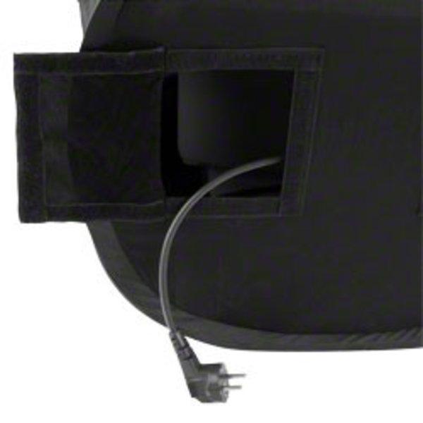 Walimex Pop-Up Light Cube Laptop 50x50x50cm super Zwart