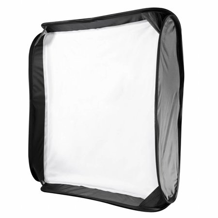Walimex Magic Softbox voor systeemflitsen, 40x40cm