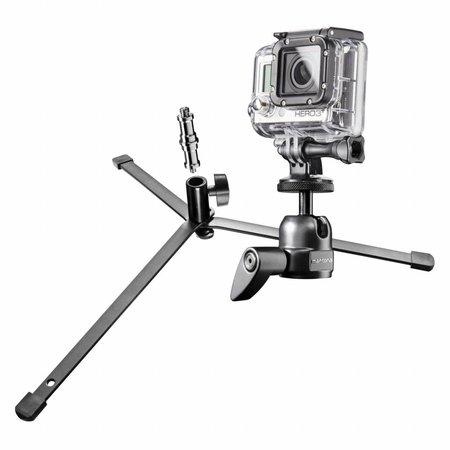 mantona Groundview Stativ für GoPro