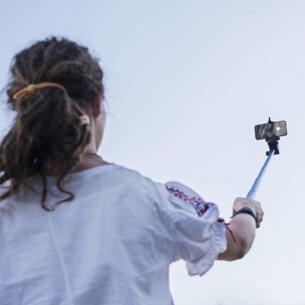 Mantona GoPro & Smarphone Selfie Set Zwanenhals Mini