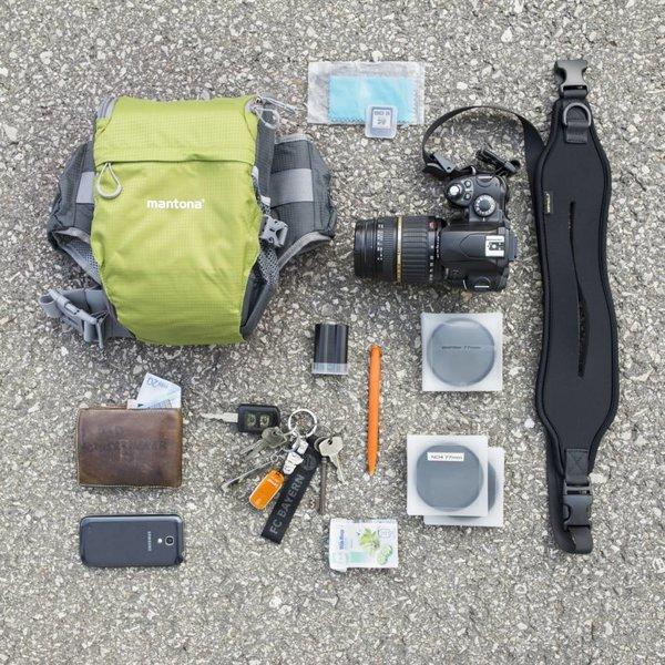 Mantona Cameratas Elements Pro 10, Groen