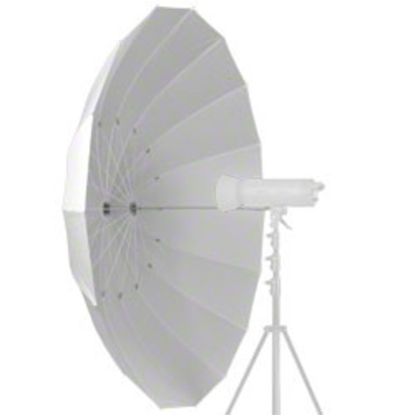 Walimex Doorschijnende Studio Paraplu Transparant, 180cm