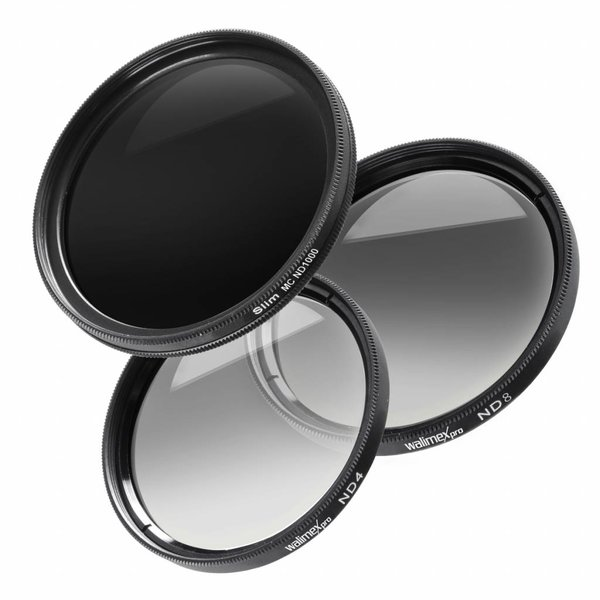 Walimex Pro Grijsfilter Set 55 mm