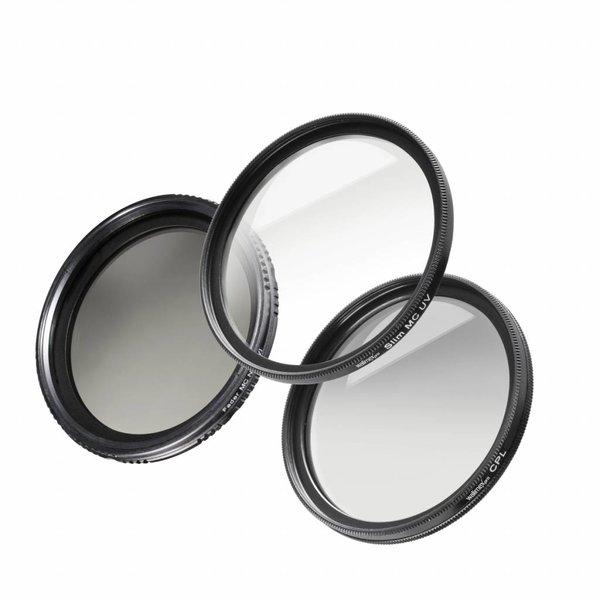 Walimex Pro Filters Starters Set 62 mm