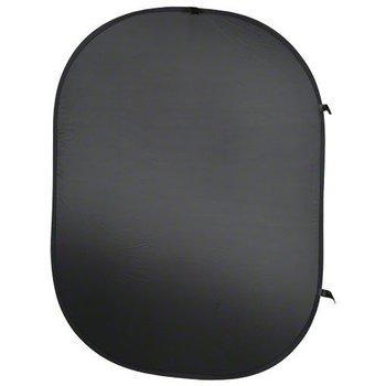 Walimex Opvouwbaar Zwart Achtergrond voor studio fotografie 150x200cm
