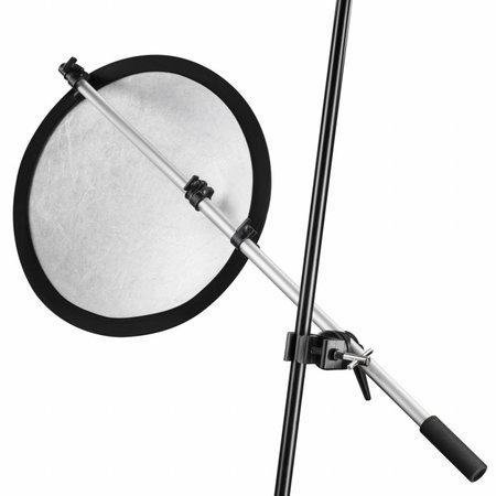 walimex Reflektorhalter mit Klemme, 44-150cm
