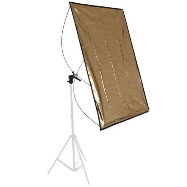 Walimex Reflectiescherm Paneel Zilver / Goud, 70x100cm