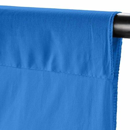 walimex Achtergronddoek 2,85x6m, nautical blue