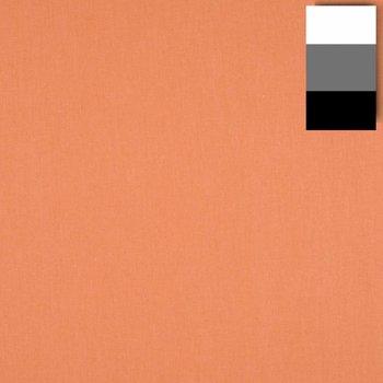 walimex Stoffhintergrund 2,85x6m, lachs/orange