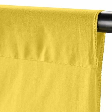 Walimex Achtergronddoek 2,85x6m, cyber geel
