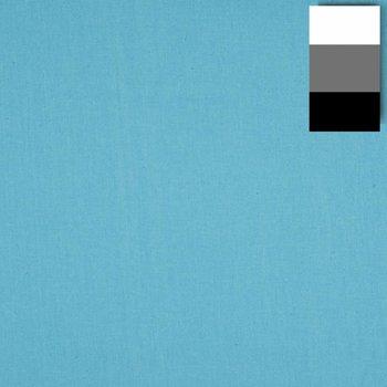 Walimex Stoffhintergrund Fotografie 2,85x6m, türkisblau