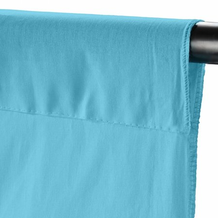 walimex Achtergronddoek 2,85x6m, river blue