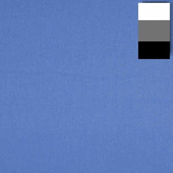 Walimex Achtergrond Doek Fotografie  2,85x6m, vista blue