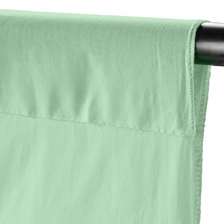 walimex Stoffhintergrund 2,85x6m, weißgrün