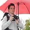 Walimex Pro Swing Handenvrij Paraplu rood