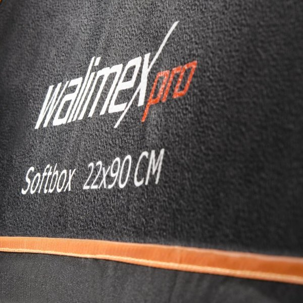 Walimex Pro Softbox Orange Line 22x90