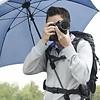 walimex pro Swing handsfree Regenschirm marine