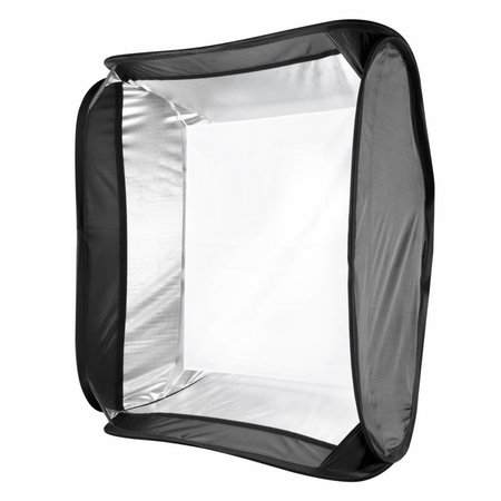 Walimex Magic Softbox voor systeemflitsen, 60x60cm