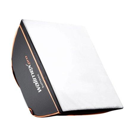 Walimex Pro Softbox Vierkant OL 40x40cm   Diverse merken Speedring