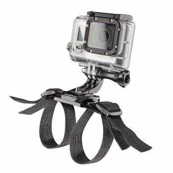 mantona Helmgurt für Fahrradhelme für GoPro