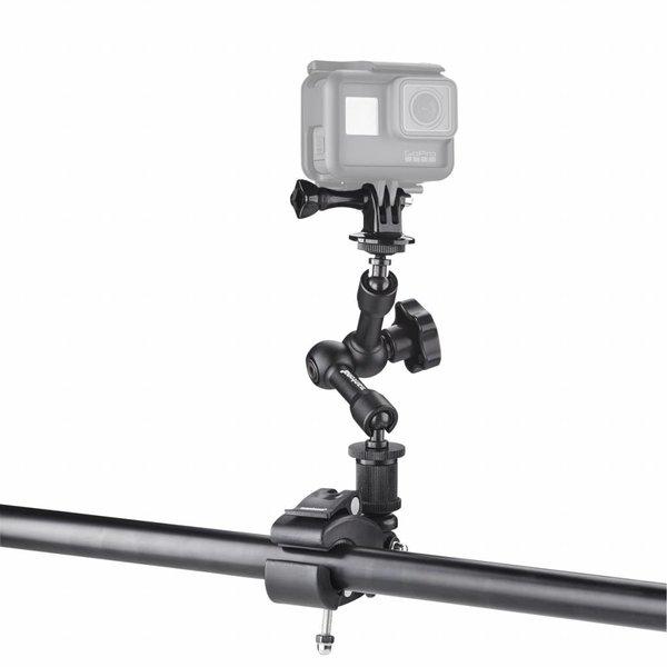 Mantona GoPro Klem bevestiging XL 1,5-4cm + 1/4