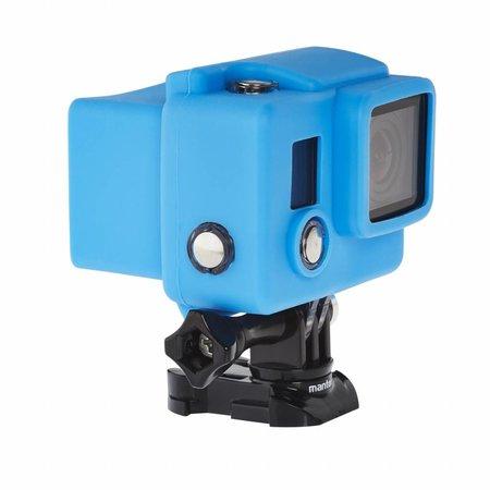 mantona GoPro Silicone beschermhoezen set Hero 4/3