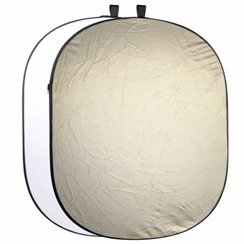 Walimex Studio Pop-Up Background 2in1 Gold/white