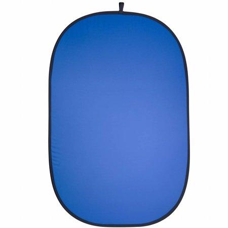 walimex 2in1 Falthintergrund grau/blau 150x200