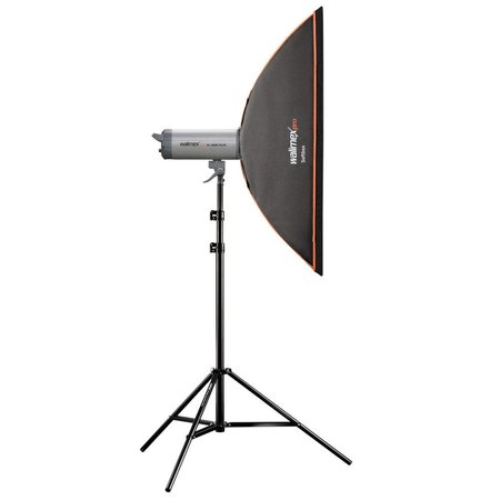 walimex pro Softbox OL 22x90cm | For various brands speedring