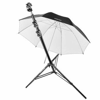 walimex pro Blitzhalterset Stativ Schirm