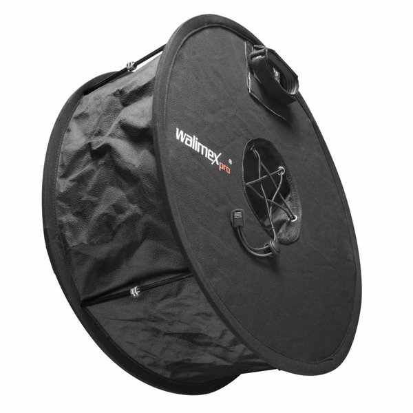 Walimex Pro Softbox ronde Diffuser voor Compact flitsers