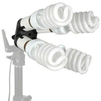 Walimex Lampenhalterung 4-fach mit 4 Tageslampen