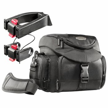 Mantona Biker Camera Bag Set Premium + 2 Adapter