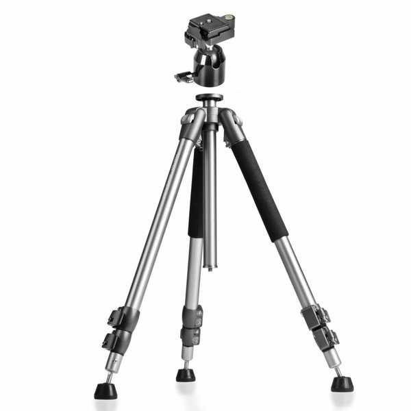 Walimex Camera Statief Pro WAL-6702 + Statiefkop FT-002H