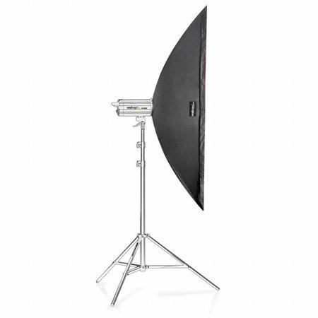 Walimex Pro Softbox Striplight 25x150cm | Diverse merken Speedring