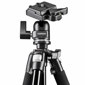 mantona Camera Statief Scout MAX & Balhoofd 157cm